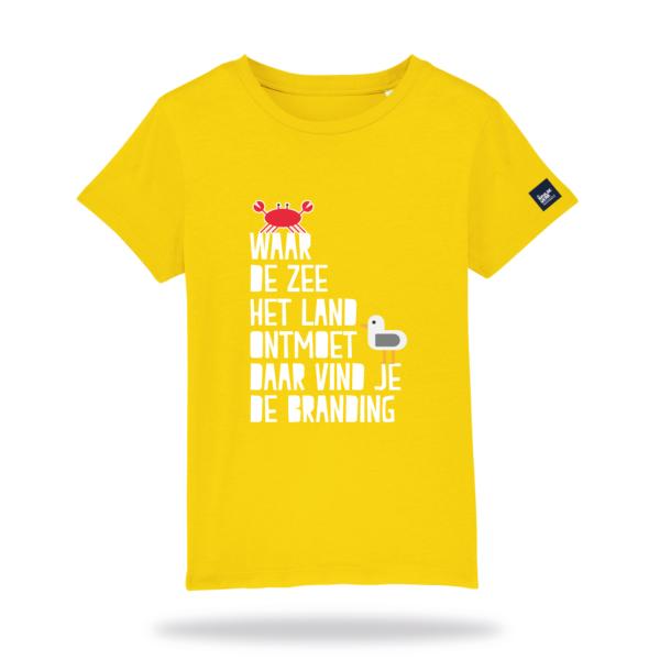 Kids_Tshirt_Brandingwear_geel_voor