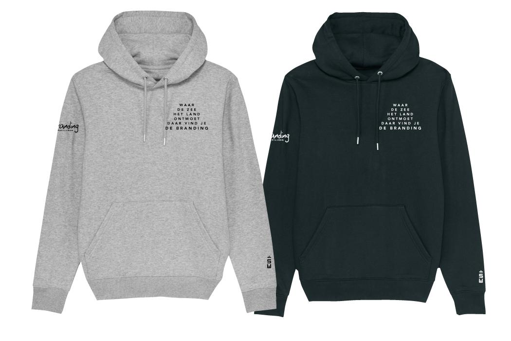 Hooded sweater Strandpaviljoen De Branding Terschelling