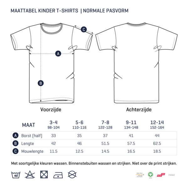 Maattabel_kinder_Tshirts