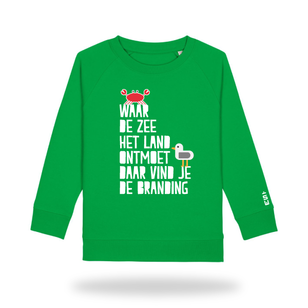 Brandingsweater_kids_voor_groen