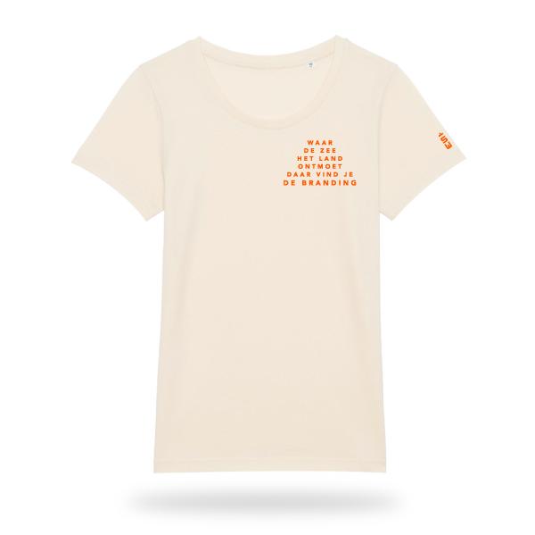 Branding_Tshirt_Dames_naturel_voor